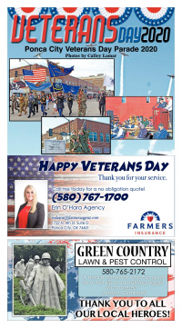 Ponca City News Veterans Day
