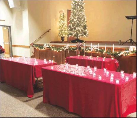 HOSPICE OF North Central Oklahoma will hold a Candle Lighting Memorial Service on Saturday, Dec. 7 at the Carolyn Renfro Event Center at 2 p.m.