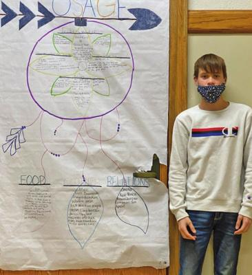 EMS students celebrate Native American Heritage Month