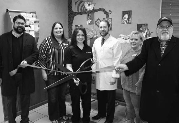 THE CHAMBER held a Ribbon Cutting Ceremony