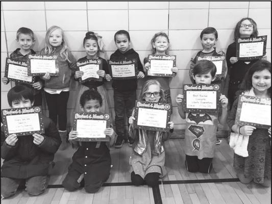 THE FEBRUARY Students of the Month