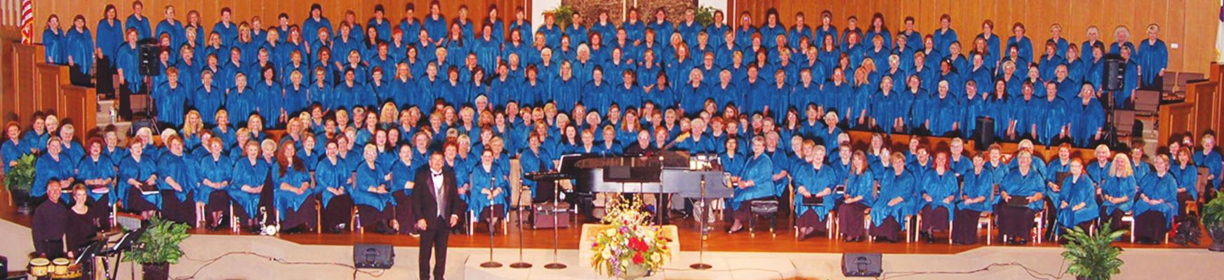 Singing Churchwomen will appear in concert