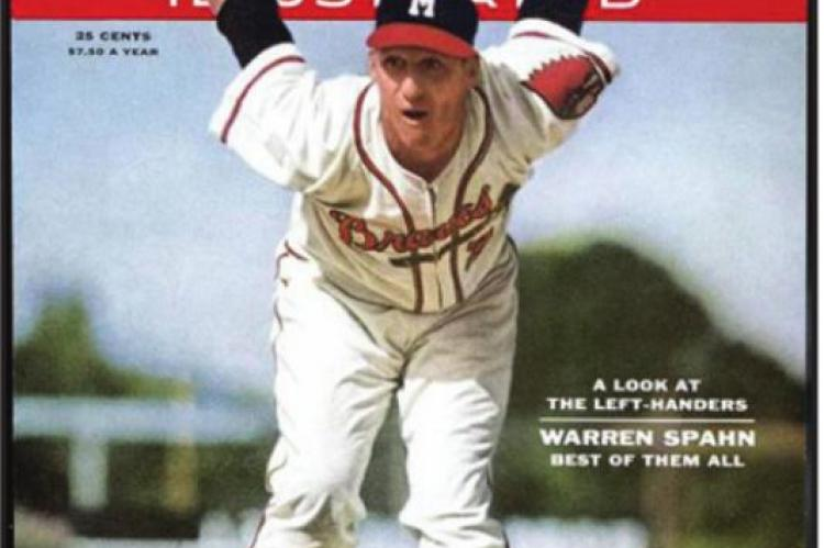 WARREN SPAHN was one of the greatest pitchers in the history of baseball. He didn't have great performances in the few World Series appearances he had, so he doesn't qualify as an Oklahoman who excelled in the World Series.