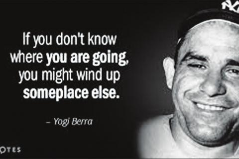 "YOGI BERRA was a very good baseball player for the New York Yankees. He is better known for his sayings, some of which Yogi said ""I Didn't Say All the Things I Said."""