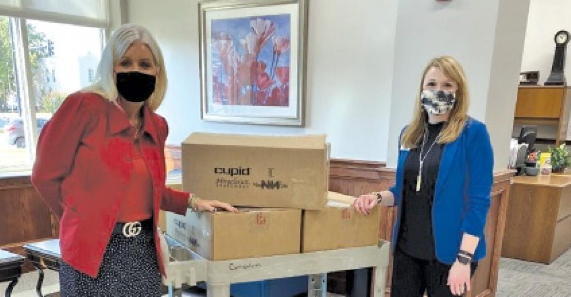 Community Health Foundation Donates Masks For PreK-7th Grade Students